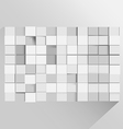 Cube Background Abstract Modern Wallpaper vector image vector image