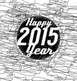 Happy New Year 2015 Abstract Background vector image vector image