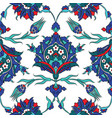 Iznik ceramic tiles floral pattern