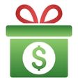 Money Prize Gradient Icon vector image