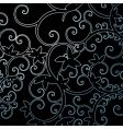 background leaf pattern swirl illustra vector image vector image
