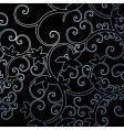 background leaf pattern swirl vector image vector image