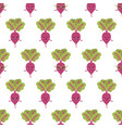 beet characters seamless pattern background vector image vector image