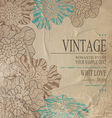 Brown congratulation vintage background vector | Price: 1 Credit (USD $1)