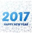 Happy new 2016 year Seasons greetings colorful vector image