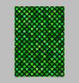 pentagram star pattern brochure design - document vector image