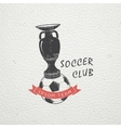 Set of Soccer Football Club Sport Team Detailed vector image vector image