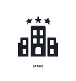 stars isolated icon simple element from luxury vector image vector image