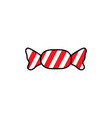 candy sweets icon design vector image vector image