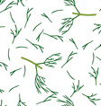 Chopped Dill vector image vector image