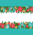 christmas background copy space vector image