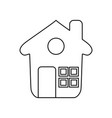 home draw house vector image vector image