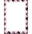 pink patches vector image vector image