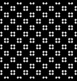 seamless pattern with perforated crosses vector image vector image