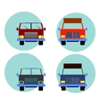 Cars Icon Set vector image
