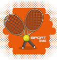 colorful sport icon vector image vector image