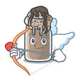 Cupid milkshake character cartoon style