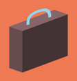 flat icon on theme arabic business office suitcase vector image vector image