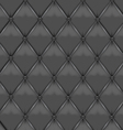 Gray Leather Upholstery vector image vector image