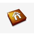 home web icon vector image vector image
