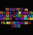 latin alphabet and arabic numerals