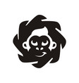 monkey king logo vector image