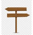 road destination wood board vector image vector image