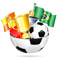 Soccer Items vector image vector image