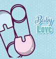 baby love cartoons vector image vector image