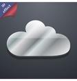 Cloud icon symbol 3D style Trendy modern design vector image