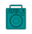 guitar amplifier icon image vector image