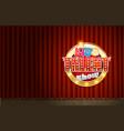 kids tv talent show scene vector image vector image