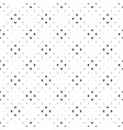 seamless dot pattern background - black and white vector image vector image