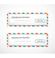 Subscribe Forms vector image
