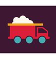 truck design vector image vector image