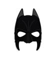 Superhero mask vector image