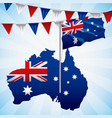 animals australia day celebration vector image