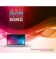 Brochure template Flyer Design vector image vector image