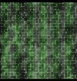 green abstract mosaic with random size vector image