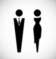 Male and female icon design vector image vector image