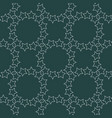 seamless pattern with white stars on black for vector image