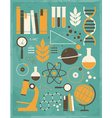 vintage science icons 1