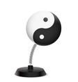 Yin yang souvenir vector image