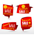 049 collection of web tag banner for promotion vector image vector image