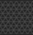 abstract geometric pattern of triangles vector image vector image