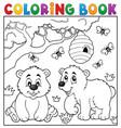 coloring book bear theme 4