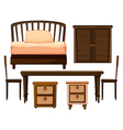Furnitures made from woods vector | Price: 1 Credit (USD $1)