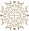vintage round baroque ornament