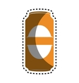 beer can drink icon vector image