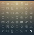 busines and finance icon set